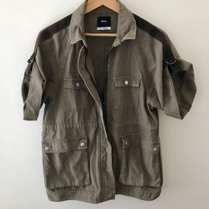 BDG Urban Outfitters Oversized Military Jacket S